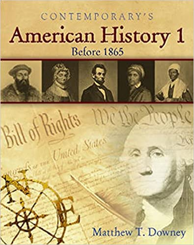 American History 1 (Before 1865), Hardcover Student Text Only (American History II)