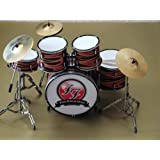 RGM343 Taylor Hawkins Foo Fighters Kits de batterie miniatures Rock Guitar Miniatures Foo Fighers My Hero The Color And The Shape Wasting Light