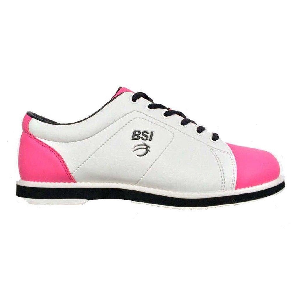 Womens 653 Classic Bowling Shoes (11 M US White/Pink/Black)