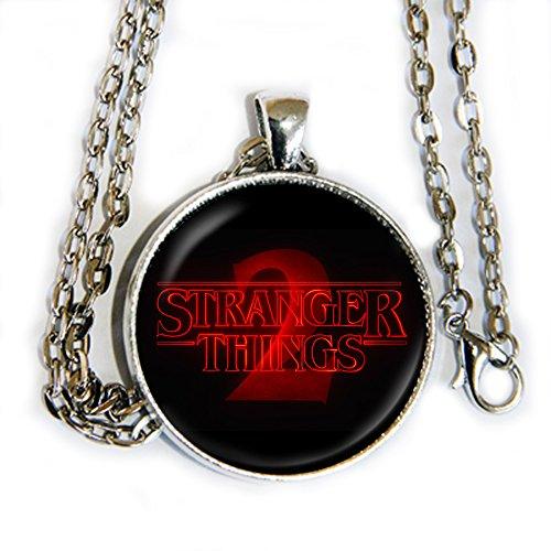 Stranger Things 2 logo - pendant necklace - HM ()