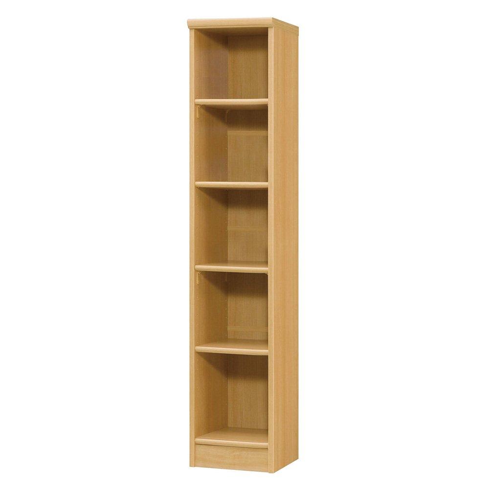 色とサイズが選べるオープン本棚 幅28.5cm高さ150cm 545447(サイズはありません オ:ナチュラル) B079B9XXD3 オ:ナチュラル オ:ナチュラル