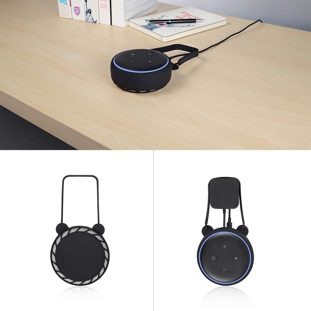AIflyMi Coque en Silicone pour  Echo Dot 3 Coque en Silicone Station Support pour Echo Dot 3 ND Generation