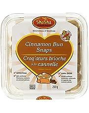 ShaSha Cinnamon Bun Snaps, 250 Grams