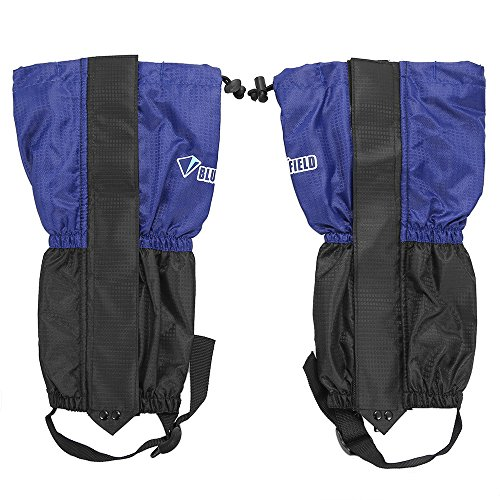 Lixada 1 Pair Children Snow Leg Gaiters Snow Leg Boot Cover Strap Kids Outdoor High Gaiter for Climbing Skiing