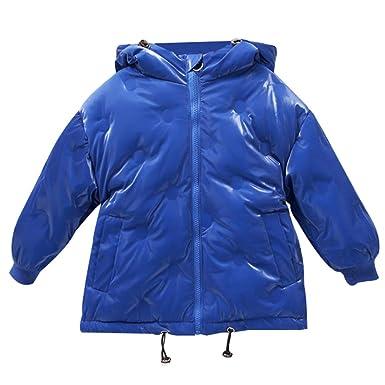 Winterjacke Wasserdicht Kinder Steppjacke Fleece Mantel Mit 0wPXN8nOk