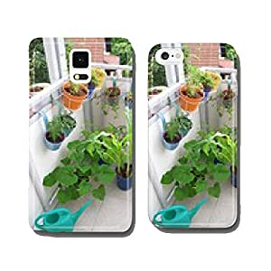 Vegetable plants in pots on the balcony cell phone cover case iPhone6 Plus
