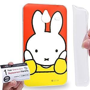 Case88 [Nokia Lumia 640XL] Gel TPU Carcasa/Funda & Tarjeta de garantía - Miffy Storybook Collections 1327