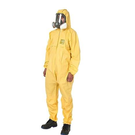 AF ES Ropa de protección química con Capucha, Experimento ...