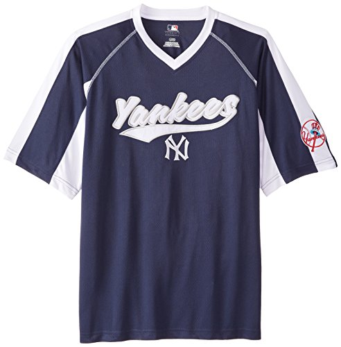 MLB New York Yankees Men's Pitch Perfection Coop Fashion Tops