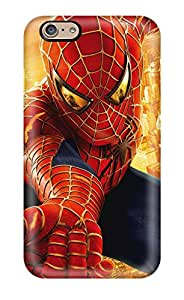Leslie Hardy Farr's Shop First-class Case Cover For Iphone 6 Dual Protection Cover Spider Man