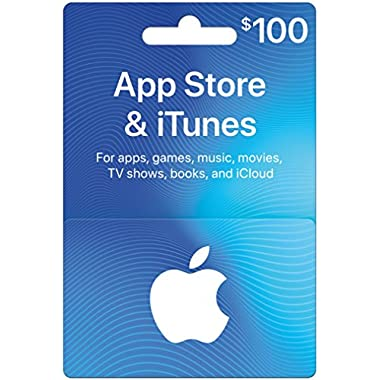 App Store & iTunes Gift Cards $100 - Design May Vary