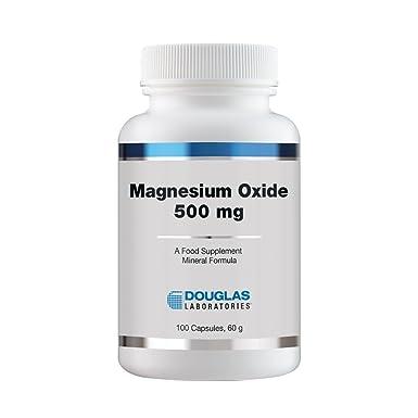 Óxido de magnesio - 100 cápsulas - Douglas laboratorios