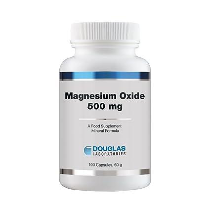 Óxido de magnesio - 100 cápsulas - Douglas laboratorios: Amazon.es: Alimentación y bebidas