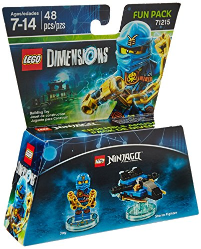 LEGO Dimensions, Exclusive Ninjago Jay Fun Pack (71215) (Fun Pack Free)