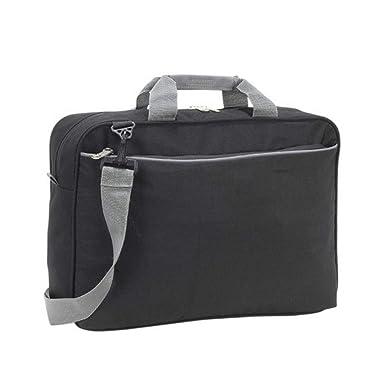 4e343ad6bb Shugon Kansas - Mallette porte-documents - 13 litres (Taille unique)  (Noir): Amazon.fr: Vêtements et accessoires