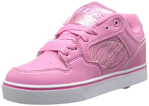 Heelys Girls' Motion Plus Sneaker, Light Pink, 7 M US Big Kid by Heelys