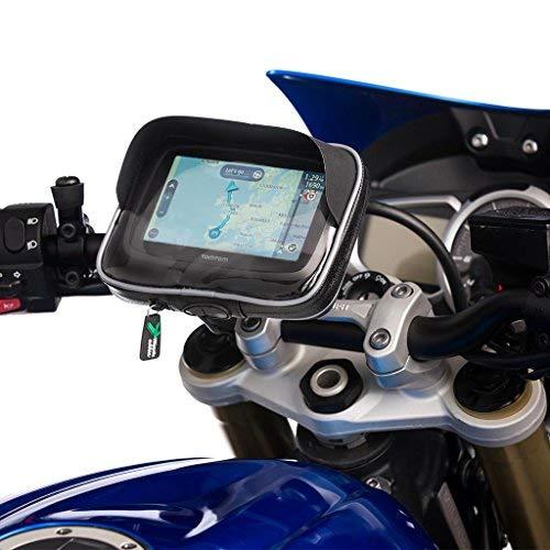 15,2 cm //M6 UltimateAddons Wasserdichte GPS-Schutzh/ülle und Befestigungskit f/ür den Lenker gro/ß