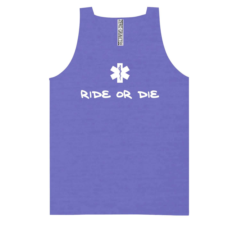 Ride OR DIE Adult Pigment Dye Tank Top