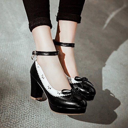 1 Black Women Zanpa Heels Shoes Classic 7YxRwI