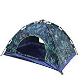 Beneyond Outdoor Tents 3-4 Automatic/Pop up Tents, Camouflage/Pull Rope Type/Visor Camping Tents