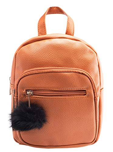 Child Tan Leather - Mini Leather Backpack for Women - Great Tan Girls Backpacks - Various Colors