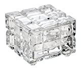 Celebrations by Mikasa Glass Cubed Covered Box