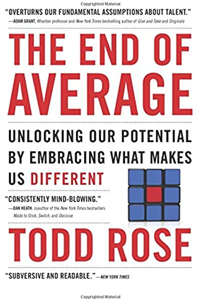 The End of Average: Unlocking Our Potential by Embracing What Makes Us  Different: Amazon.es: Rose, Todd: Libros en idiomas extranjeros