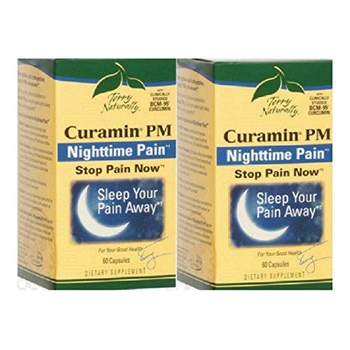 Europharma Terry - EuroPharma/Terry Naturally -Curamin PM |60 Capsules -2 Pack