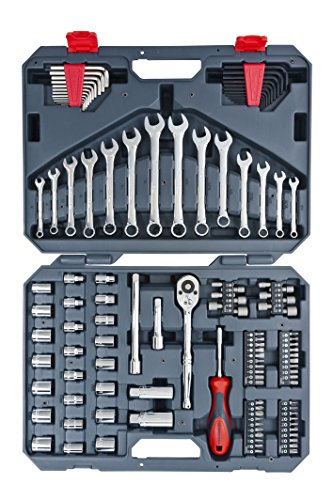Apex CTK128MP2 Crescent Mechanics Tool Set