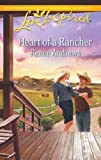 Heart of a Rancher (Love Inspired) by Renee Andrews front cover