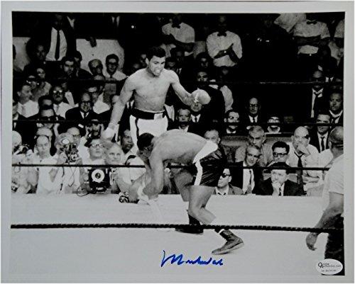 (Muhammad Ali Hand Signed Autographed 8x10 Photo May 25th, 1965 Image Online)