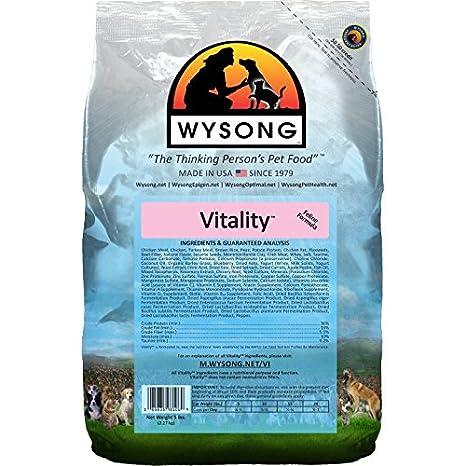 Wysong vitalidad Adulto fórmula seco Dieta para Gatos Cat Food: Amazon.es: Productos para mascotas