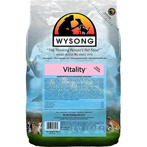 Wysong Vitality Adult Feline Formula Dry Diet Cat Food - 5 Pound Bag