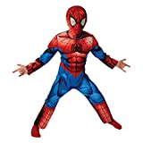 Rubie's Official Child's Deluxe Ultimate Spider-Man Costume - Large