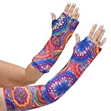 CastCoverz! Designer Arm Cast Cover - Colorburst - Medium Short: 11'' Length X 9'' Circumference - Removable and Washable - Made in USA …