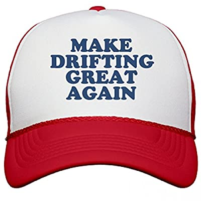 Make Drifting Great Again Hat: Snapback Mesh Trucker Hat