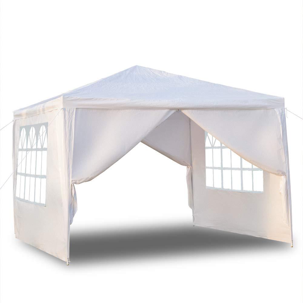 Seatour 3 x 3m 4面 ポータブル 家庭用防水テント スパイラルチューブ付き   B07PY5XTRG