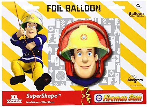 40cm x 50cm Fireman Sam Foil (Fireman Balloons)
