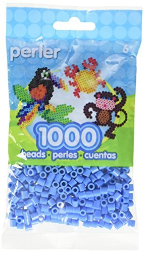 Perler Beads Pack (1000-Piece, Light Blue) by Perler