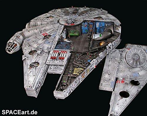 - Star Wars AMT Cut-Away Millennium Falcon Model Kit