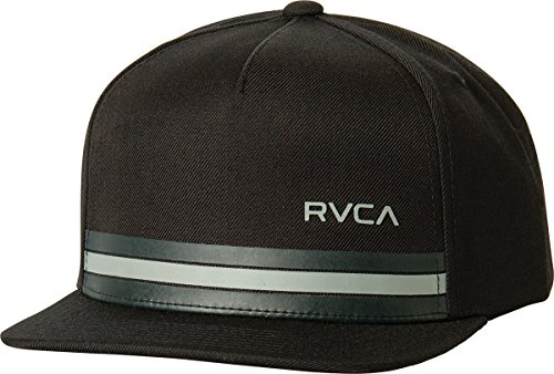 rvca-mens-barlow-twill-snapback-hat-black-black-one-size