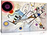 Wassily Kandinsky Composition Viii Canvas Wall Art Picture Print decor ready to hang in your home, office or even bedroom. Panther Print Canvas prints are of high quality and come framed on a 18MM Pine wood lightweight frame with the canvas stretched...