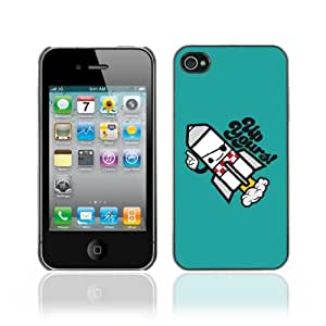 JinStore Hard Case Cover for Apple iPhone 4 / 4G / 4S / Funny UP Yours Message