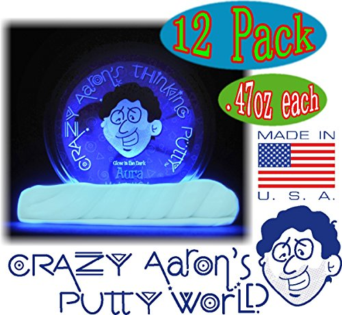 Crazy Aaron's Thinking Putty Mini Tin Complete Gift Set with Lizard Lips Hypercolor, 12-Pack by Crazy Aaron's (Image #6)