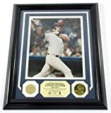 Jason Giambi Game Used Collection Photo Bat Coin Highland Mint Framed DF024904 - MLB Game Used Bats