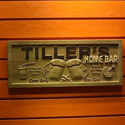 Home bar signs personalized bar signs amazon com for Bar decor amazon