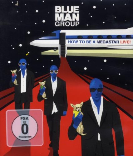 Blu-ray : Blue Man Group - Blue Man Group: How to Be a Megastar 2.1 (Blu-ray)