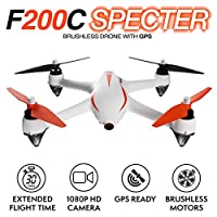 Force1 Drone with Camera and GPS Return Home Brushless Motors HD Drone 1080p Camera MJX B2C Bugs 2 Quadcopter (Certified Refurbished) from Force1