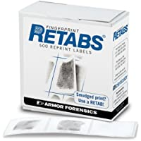 Identicator Retabs Correction Labels, Pack of 500