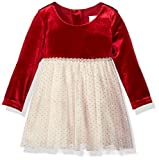Best Sparkle Dress For Babies - Youngland Baby Girls Sparkle Texture Knit Ballerina Dress Review